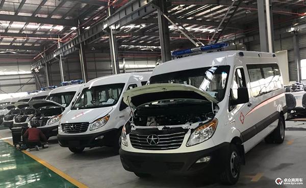 排除万难 率先复工 江汽集团商务车公司全力生产救护车支援抗疫 ...